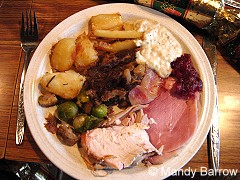 Christmas Dinner in England