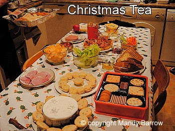 image table - British Christmas Traditions