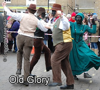 Old Golry Molly Dancers