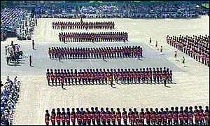 Trooping of the colours