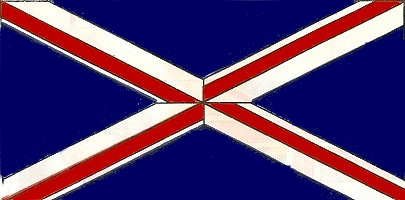 How can you tell if the union flag (union jack) is upside down?
