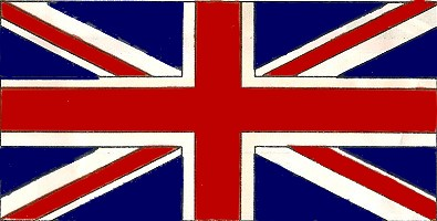 The Union Flag or Union Jack - UK flag