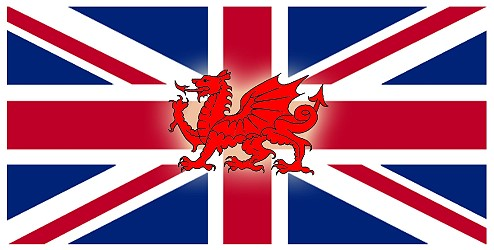 Why doesn't the Welsh dragon appear on the Union Flag?