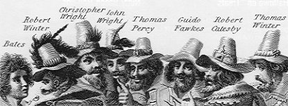Guy Fawkes and men