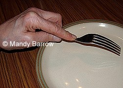 How to hold a fork